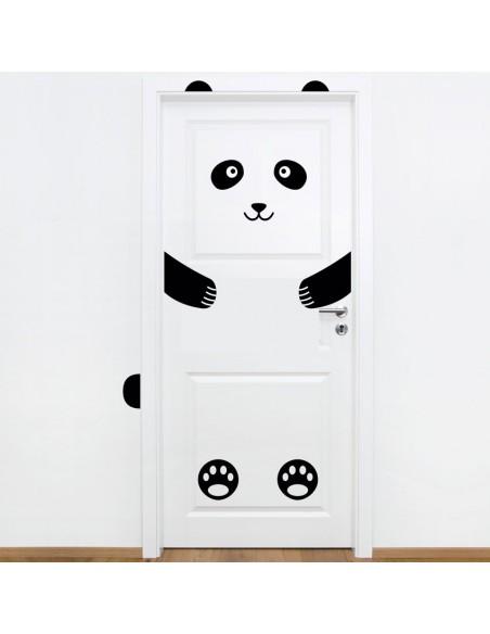 Stickers de Porte,Sticker de Porte: Panda