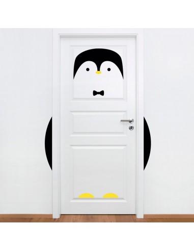 Stickers de Porte,Sticker de Porte: Pingouin