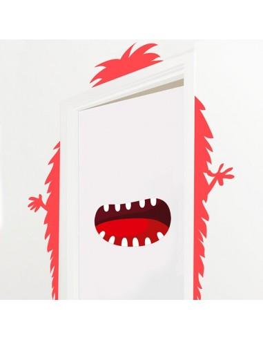 Stickers de Porte,Sticker de Porte: Monstre