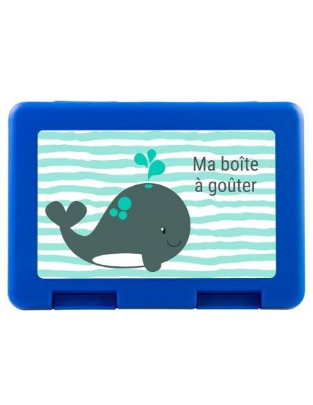 Boite a Gouter,Boîte à Goûter Baleine