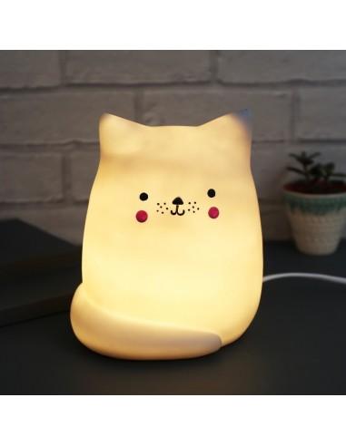 Veilleuses,Lampe de Chevet: Chat