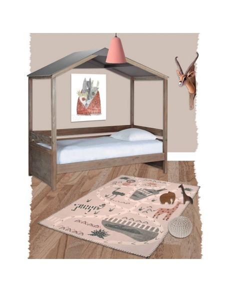 tapis enfant circuit little savannah. Black Bedroom Furniture Sets. Home Design Ideas