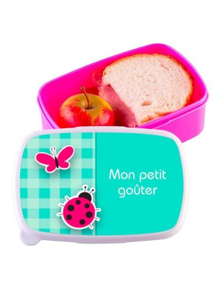 Boite a Gouter,Boîte à Goûter Coccinelle