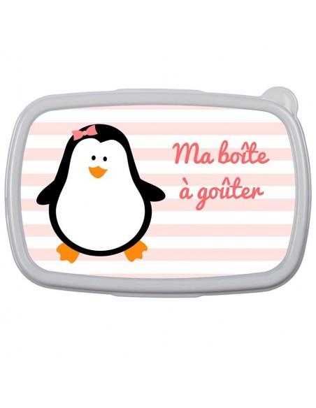 Boite a Gouter,Boîte à Goûter Pingouins