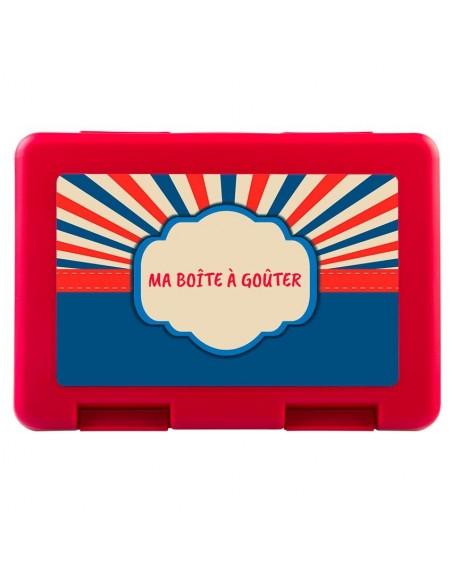 Boite a Gouter,Boîte à Goûter Super-Héros