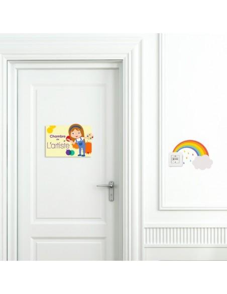Plaques de porte,Sticker de porte: Artiste