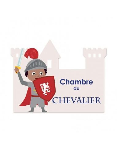 Plaques de porte,Sticker de porte: Chevalier