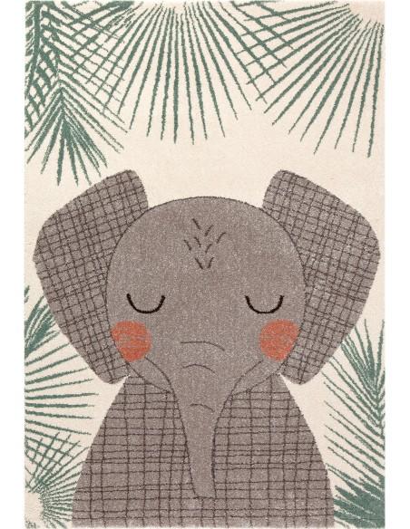 Tapis animaux,Tapis enfant: Junko Elephant