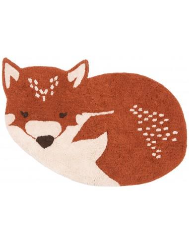 Tapis animaux,Tapis Enfant: renard