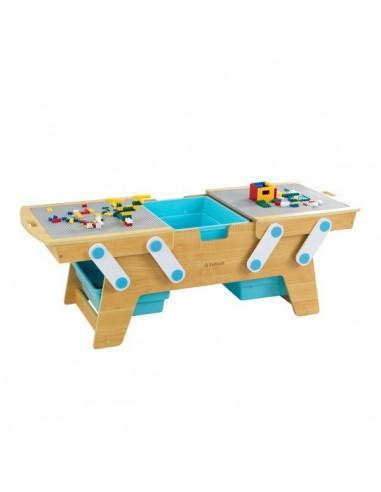 Table de jeux d'activités,Table de jeu en brique de construction