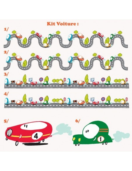Kit Deco Promo,Kit stickers: Voitures