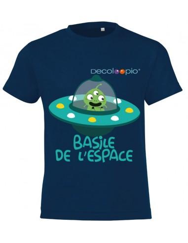vêtements enfant,T-shirt enfant garçon personnalisable: espace