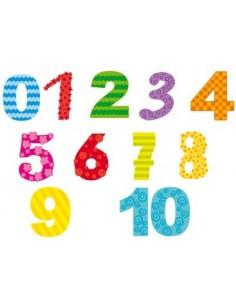Stickers Lettre et Chiffres,Sticker enfant: chiffres graphiques