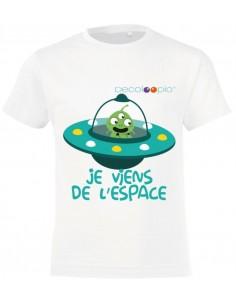 T-shirt enfant garçon : espace