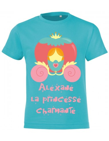 vêtements enfant,T-shirt enfant fille personnalisable: