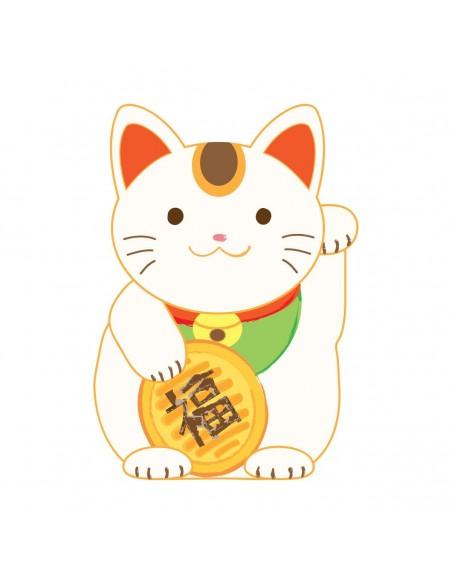 Stickers Monde,Sticker enfant Japon: Maneki-Neko