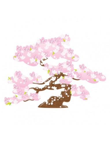 Stickers Monde,Sticker japon: Sakura - decoloopio
