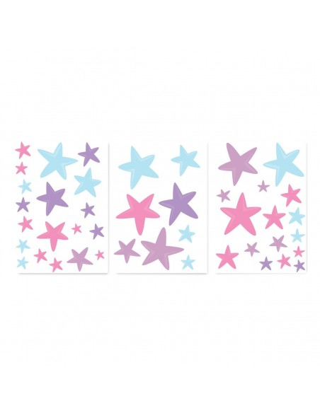Stickers Fée & Princesse,Stickers décoration chambre: Etoiles