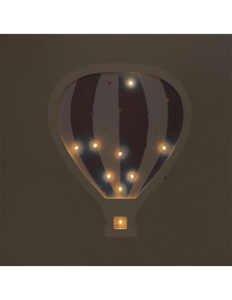 Luminaires,Lampe Montgolfière en bois