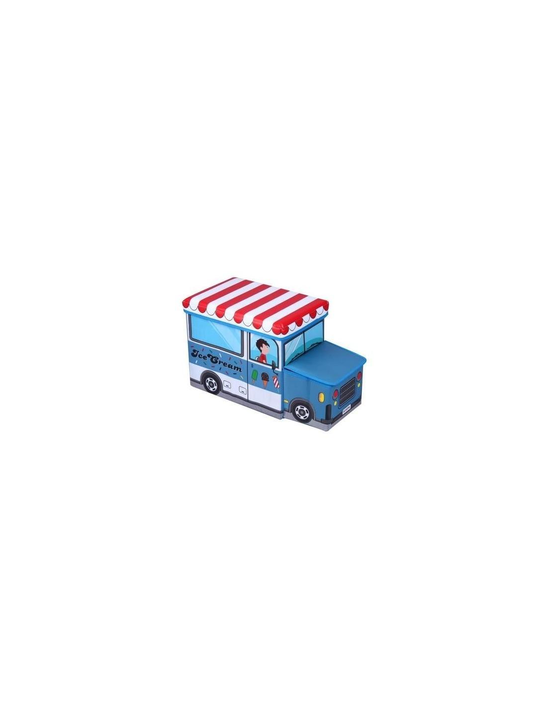 Coffre de Rangement Camion de glacier pour