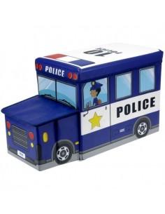 Boîtes & Paniers de rangement,Coffre de Rangement Policier pour