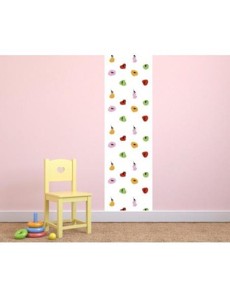 Papier peint enfant,Papier peint enfant: Chats colorés