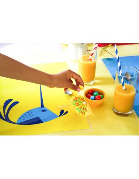 Set de table,Set de table enfant: Pioupiou au soleil