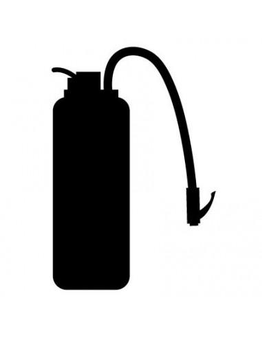 Stickers Pompier,sticker ardoise: extincteur pompier