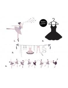Kit Stickers : Danse