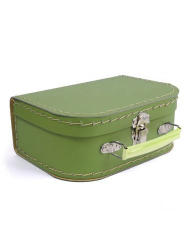 Boîtes & Paniers de rangement,Valisette Verte en Carton