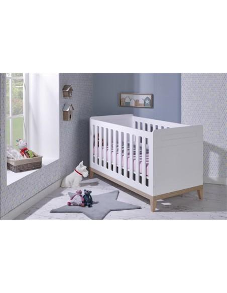 Lit bébé,Lit bébé évolutif: EVIDENCE - 70x140 cm