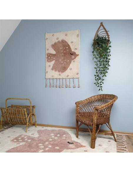 Tapis muraux,Tapis mural enfant oiseau: BIRDY