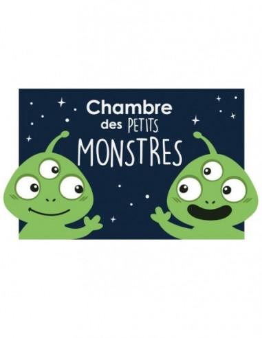 Autres Décorations,Sticker de porte Enfant: Monstres