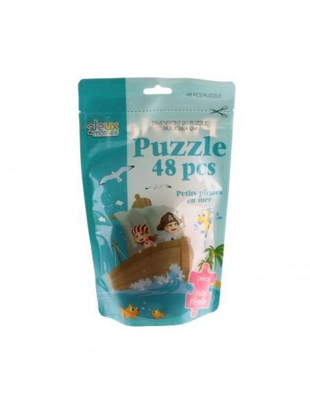 Jeux & Eveil,Puzzle Enfant 48 pièces: Pirate