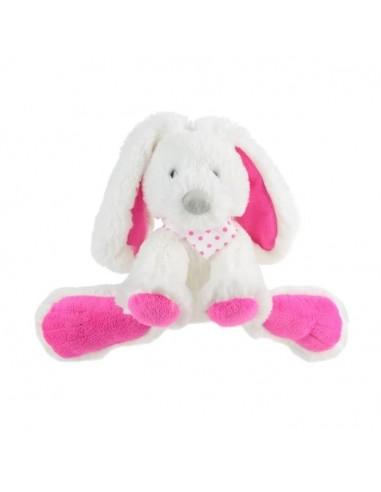 Doudous et peluches,Peluche enfantᅠ: Lapin assis 18 cm