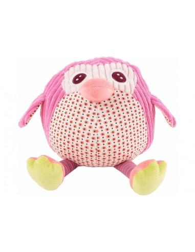 Doudous et peluches,Peluche enfantᅠ: Boule Oiseau Rose