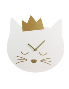 Horloge enfant ᅠ: Chat