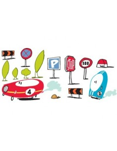 Stickers Voiture & Transports,Stickers muraux: Signalisations