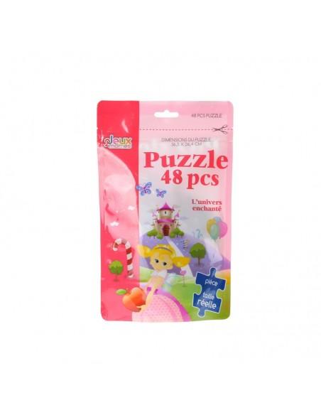 Jeux & Eveil,Puzzle Enfant 48 pièces: Princesse