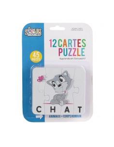Carte puzzle Enfant Mots...