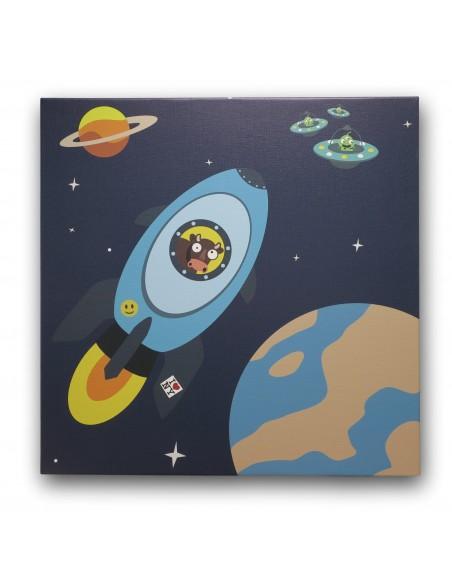 Tableaux Décoratifs,Tableau déco enfant: Espace