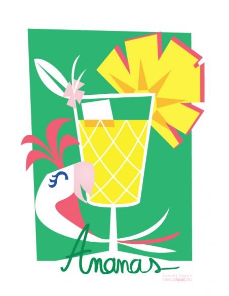 Tous nos produits,Kit de 3 affiches: Cocktail - Collection