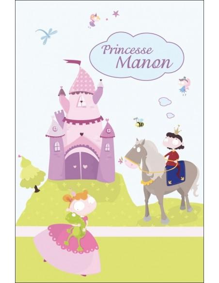 Housse de Couette Bébé,Housse Bébé à personnaliser: Princesse
