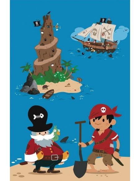 Housse de Couette Bébé,Housse de couette bébé: Pirate
