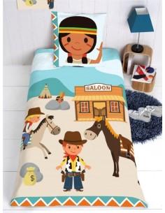Housse de Couette Enfant,Housse de Couette Enfant: Cowboy
