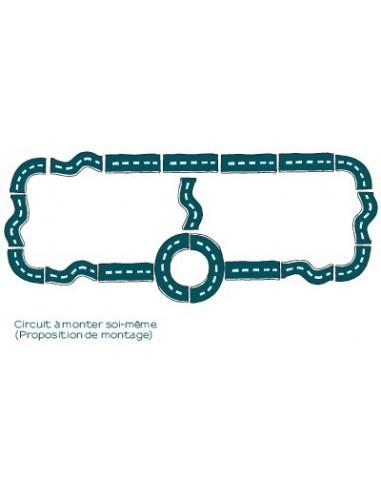 Stickers Voiture & Transports,Sticker Garçon: Grand circuit