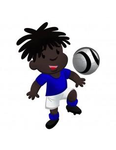 Stickers Sport,Stickers enfants: Footballeur Yanis
