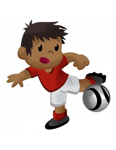 Stickers Sport,Sticker Garçon: Footballeur Mathéo