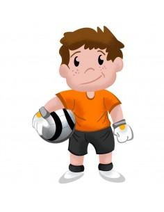 Stickers Sport,Sticker Garçon: Footballeur Hugo