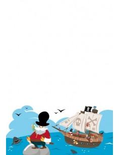 Housse de Couette Enfant,Housse de Couette Enfant Pirate: